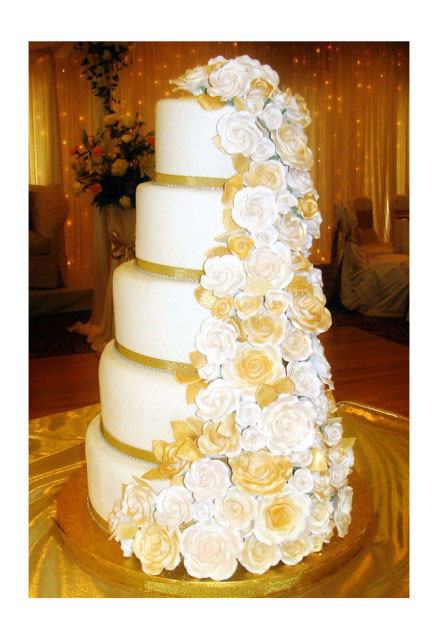 Chicago Wedding Cakes by Lana are unique